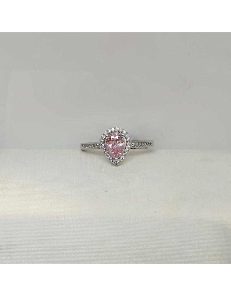 RGC180111 - Pink, Silver Ring
