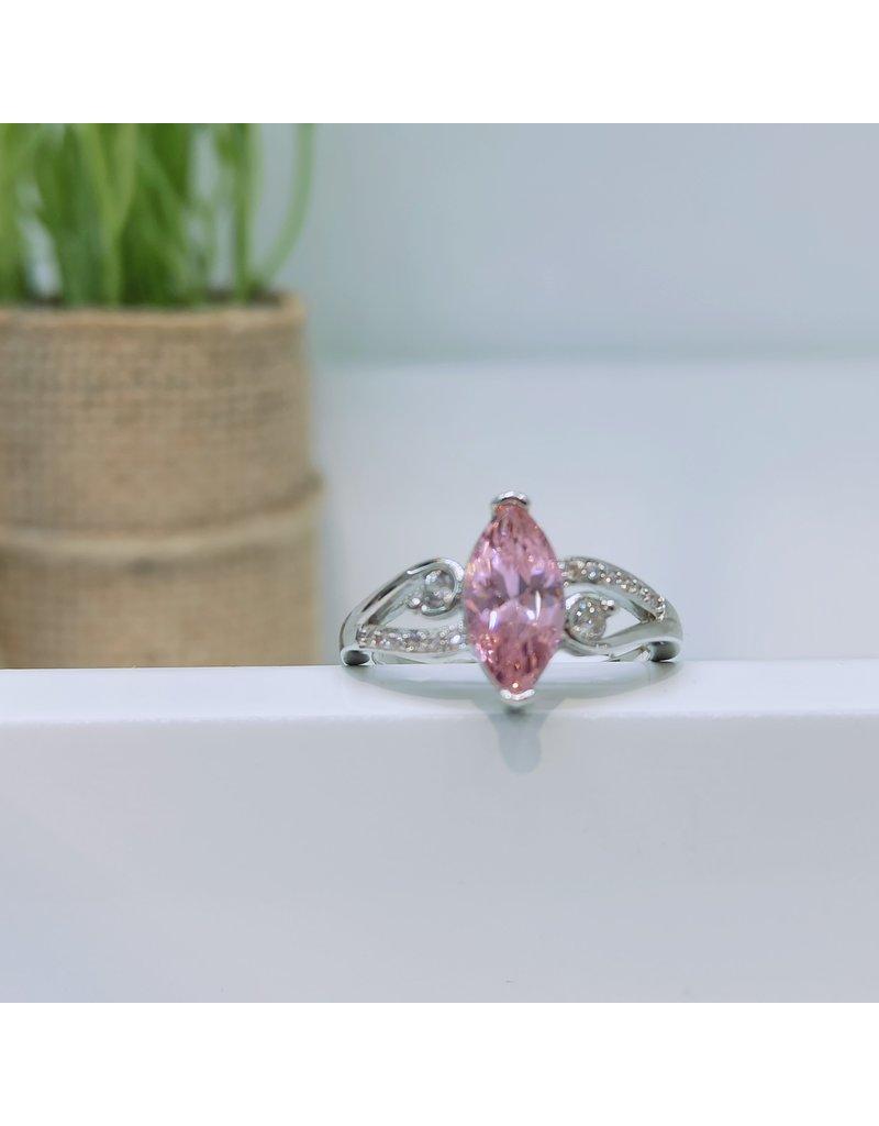 RGC180137 - Pink, Silver Ring