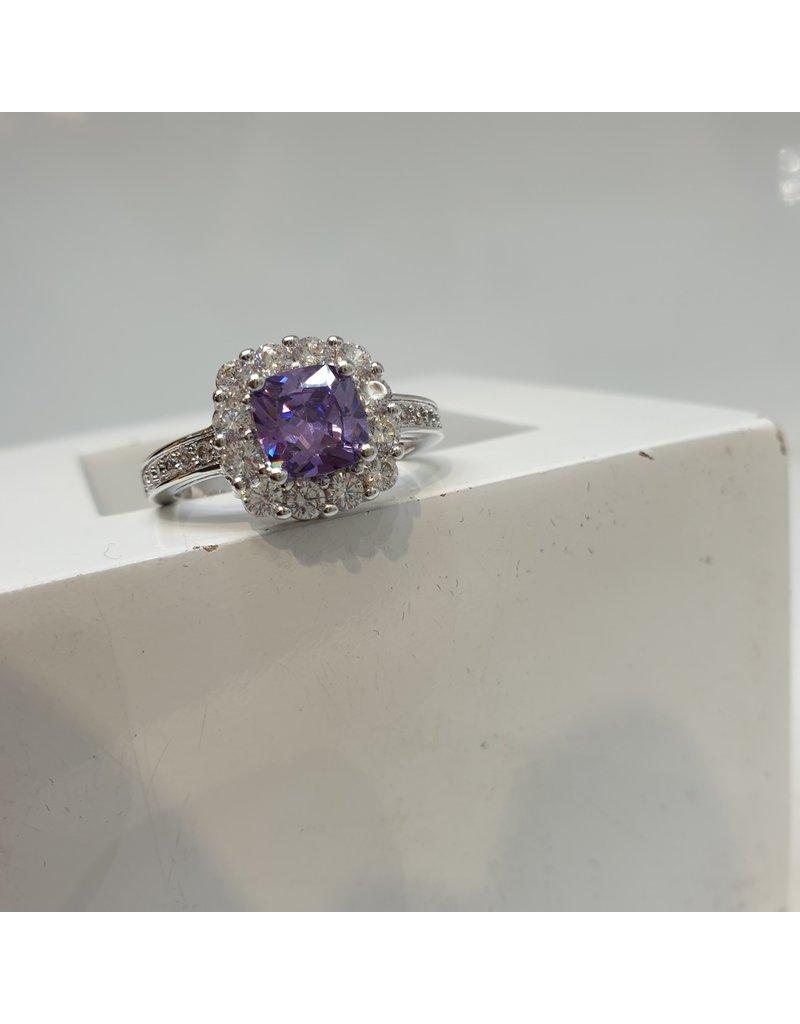 RGC180142 - Purple, Silver Ring