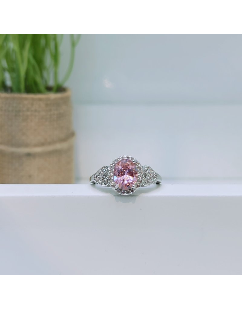RGC180164 - Pink, Silver Ring