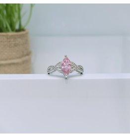 RGC180169 - Pink, Silver Ring