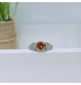 RGC180183 - Brown, Silver Ring