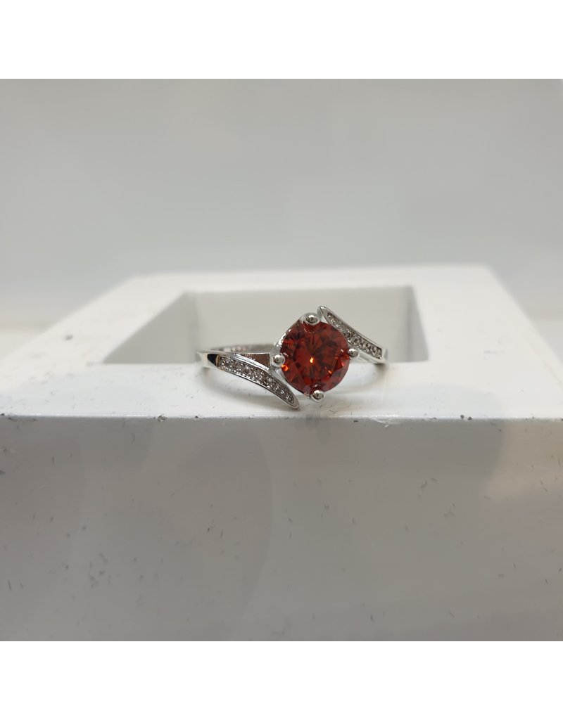 RGC190102 - Red, Silver Ring