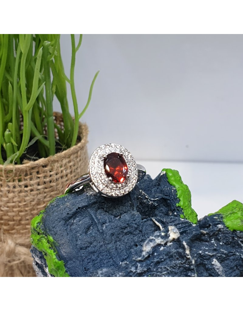 RGC190106 - Red, Silver Ring