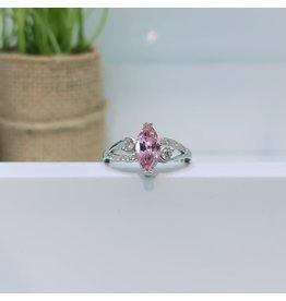 RGC190137 - Pink, Silver Ring