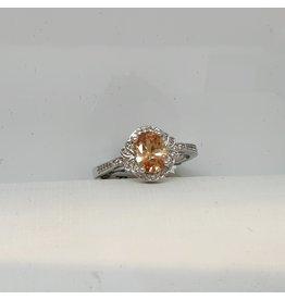 RGC190140 - Orange, Silver Ring