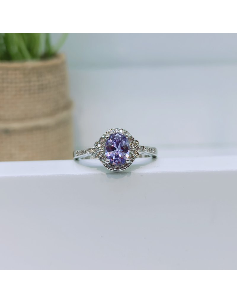 RGC190141 - Purple, Silver Ring