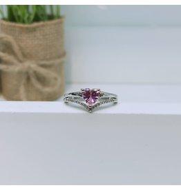 RGC190149 - Pink, Silver Ring