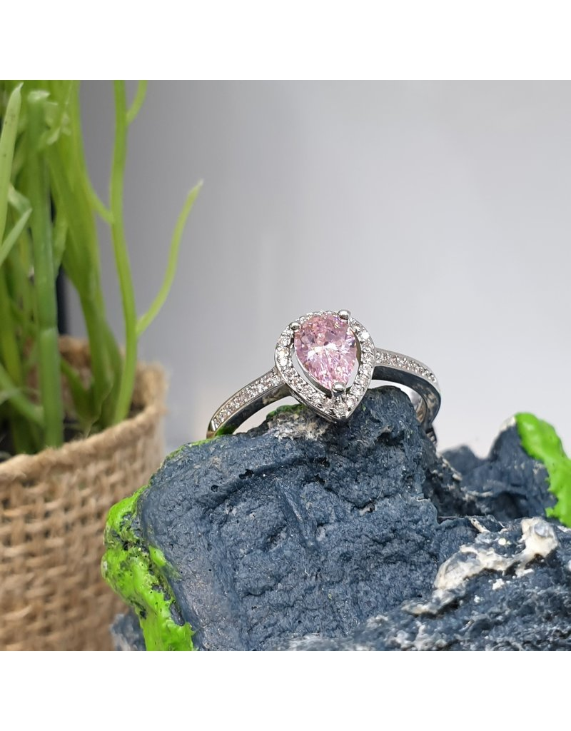 RGC190111 - Pink, Silver Ring