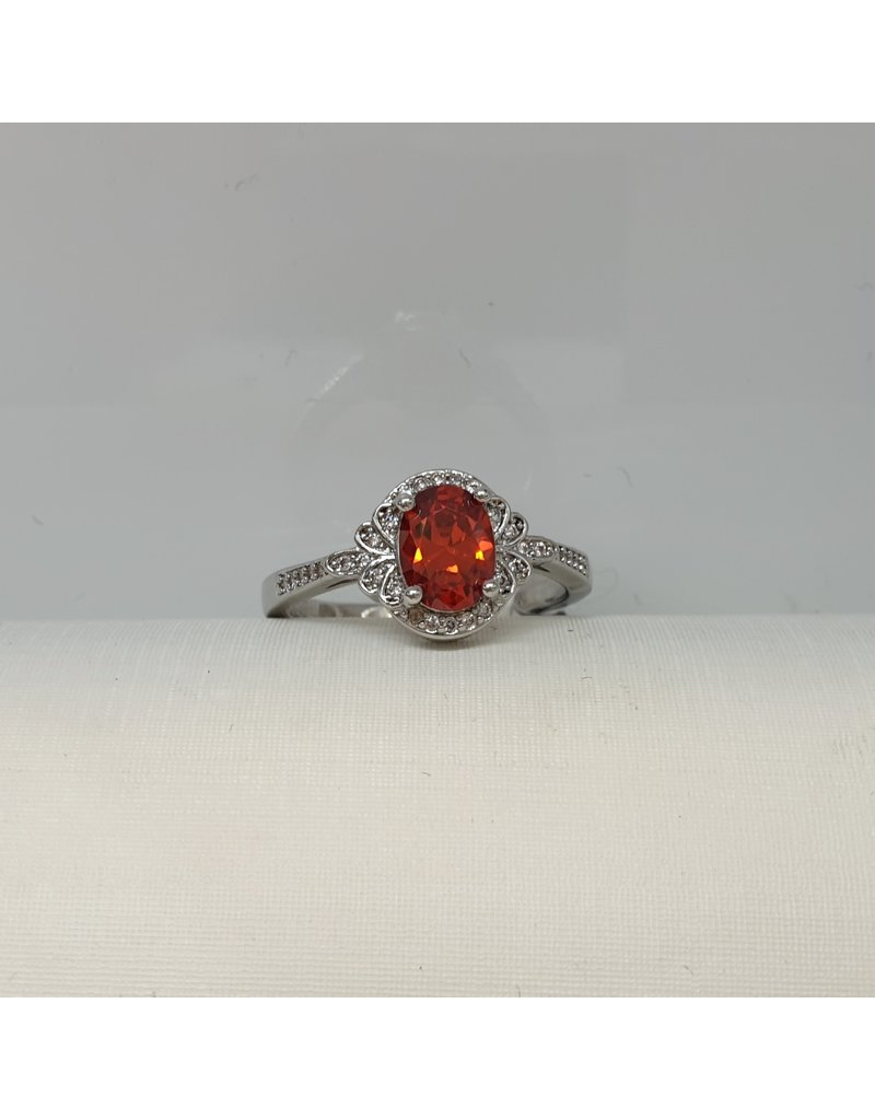 RGC190122 - Red, Silver Ring