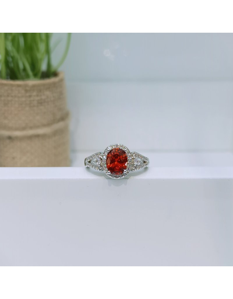 RGC190126 - Red, Silver Ring