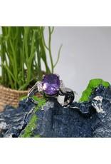 RGC190131 - Purple, Silver Ring