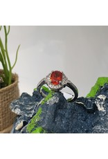 RGC190138 - Red, Silver Ring