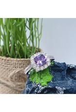 RGC190142 - Purple, Silver Ring