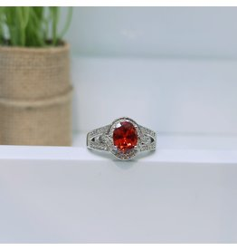RGC190153 - Red, Silver Ring