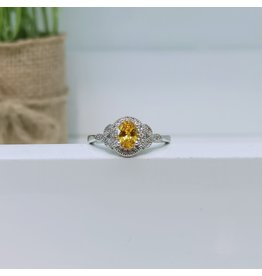 RGC190158 - Yellow, Silver Ring