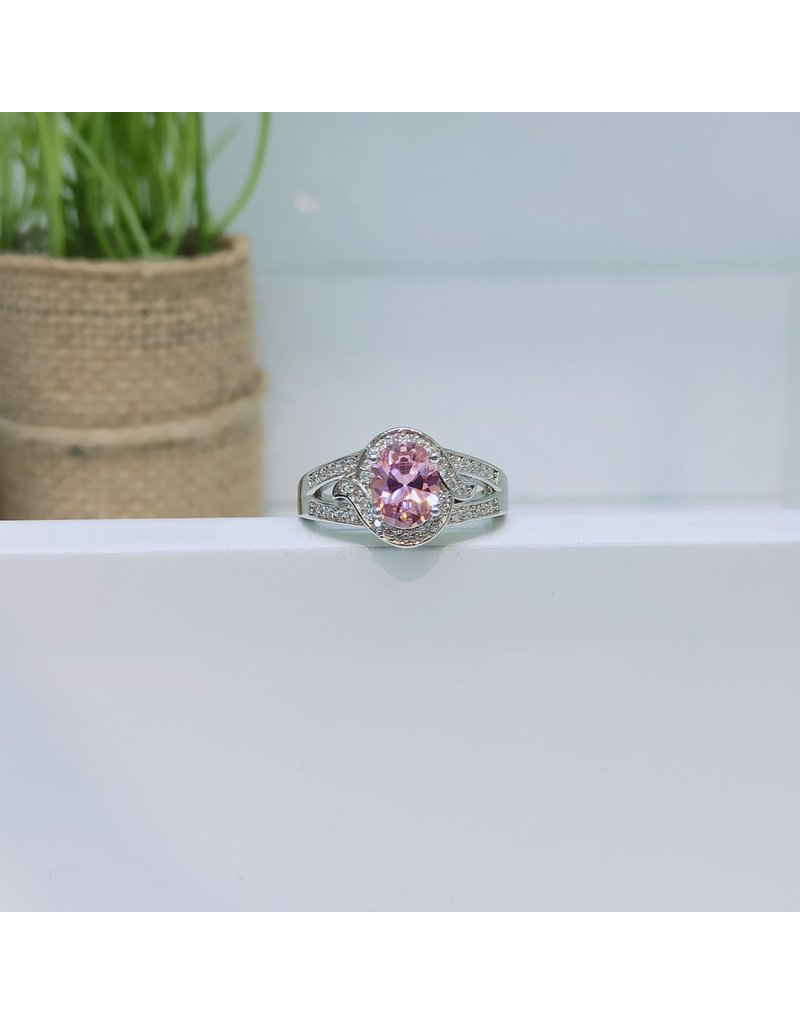 RGC190154 - Pink, Silver Ring