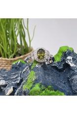 RGC190167 - Green, Silver Ring