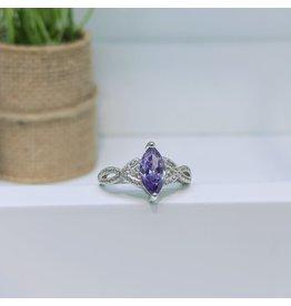 RGC190172 - Purple, Silver Ring