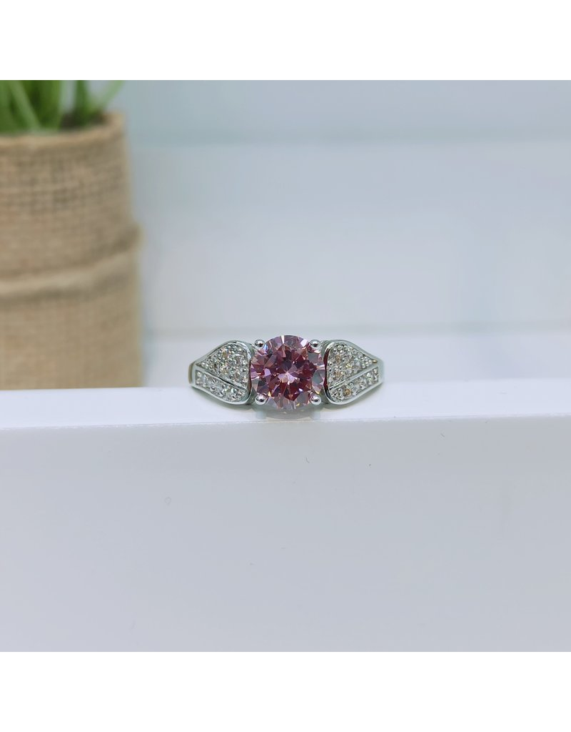 RGC190180 - Pink, Silver Ring