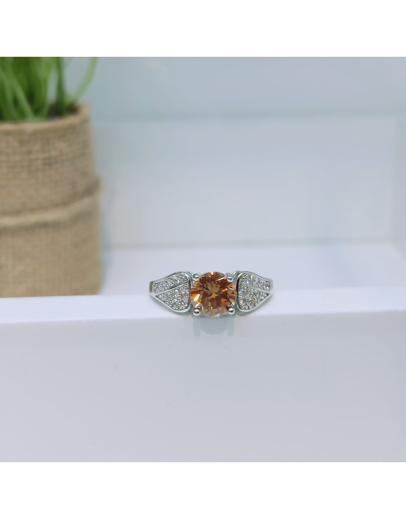 RGC190183 - Brown, Silver Ring