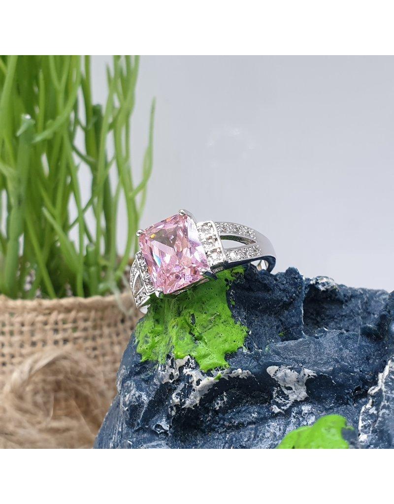 RGC190189 - Pink, Silver Ring