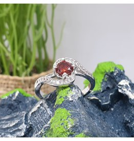 RGC190192 - Red, Silver Ring