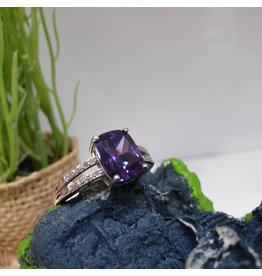 RGC190191 - Purple, Silver Ring