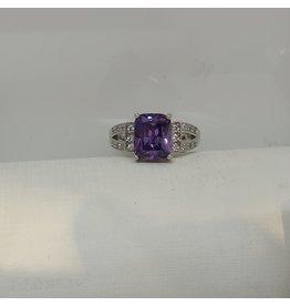 RGC190193 - Purple, Silver Ring