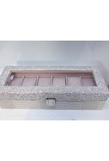 HRG0010 - White 6 Holder Watch Box