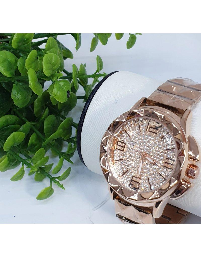 WTB0001- Large Rose Gold Watch