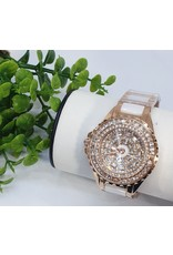 WTB0003- White Rose Gold Watch