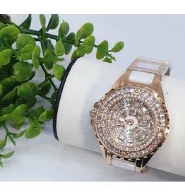 WTB0003- White Rose Gold Watch