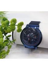 WTB0009- Spinner Blue Watch