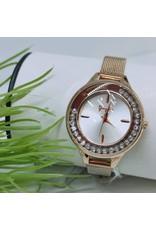 WTB0016- Rose Gold Crystal Watch