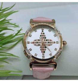 WTB0018- Pink Rose Gold Watch