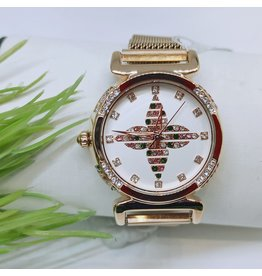 WTB0021- Rose Gold Multicolour Watch