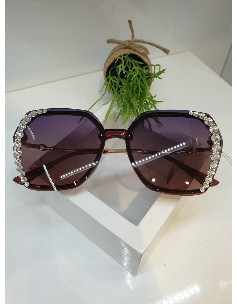 SNA0003- Maroon Sunglasses