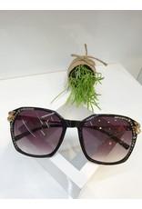 SNA0006- Gold/Black Sunglasses