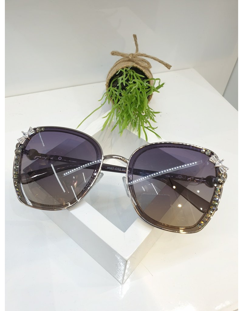 SNA0012- Black Bow Sunglasses