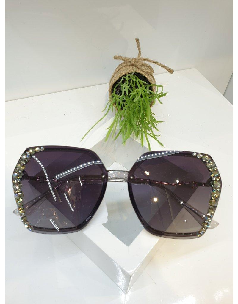 SNA0019- Gold/Black Sunglasses