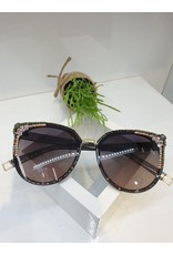 SNA0024- Silver/Mother Of Pearl Sunglasses