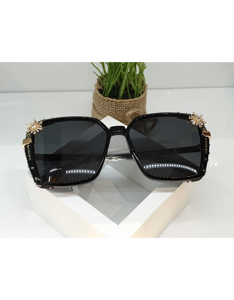 SNA0037- Gold Star Sunglasses