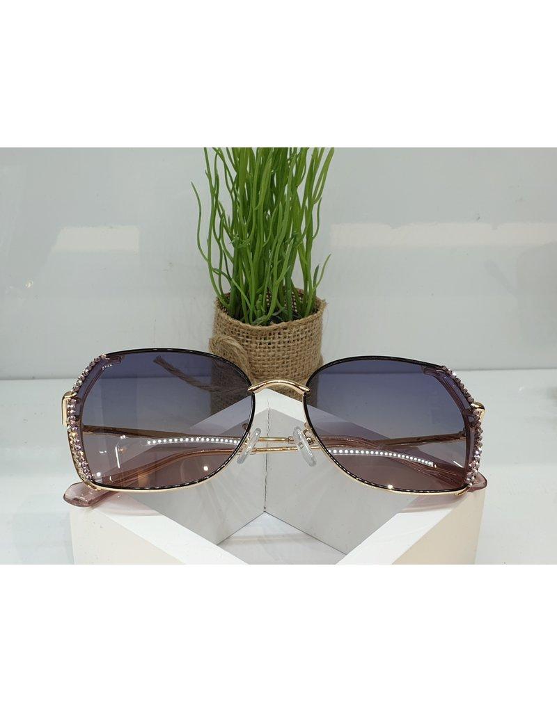 SNA0052- Silver Pink Sunglasses