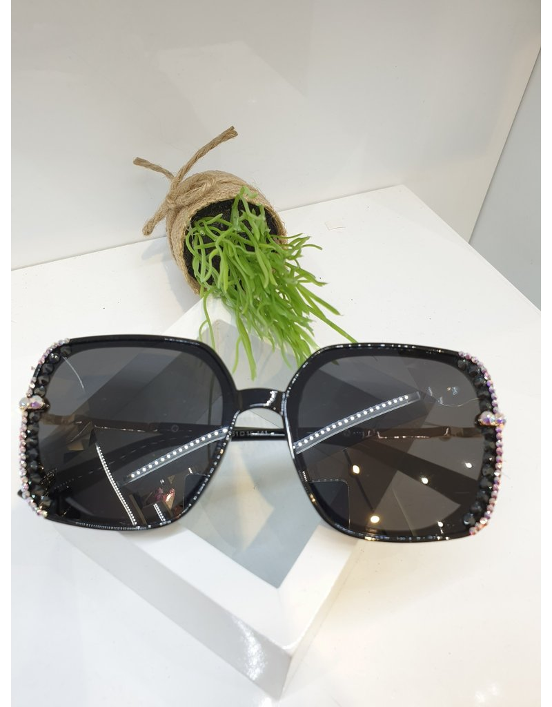 SNA0056- Black Mother Of Pearl Sunglasses