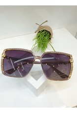 SNA0068- Gold Pink Sunglasses