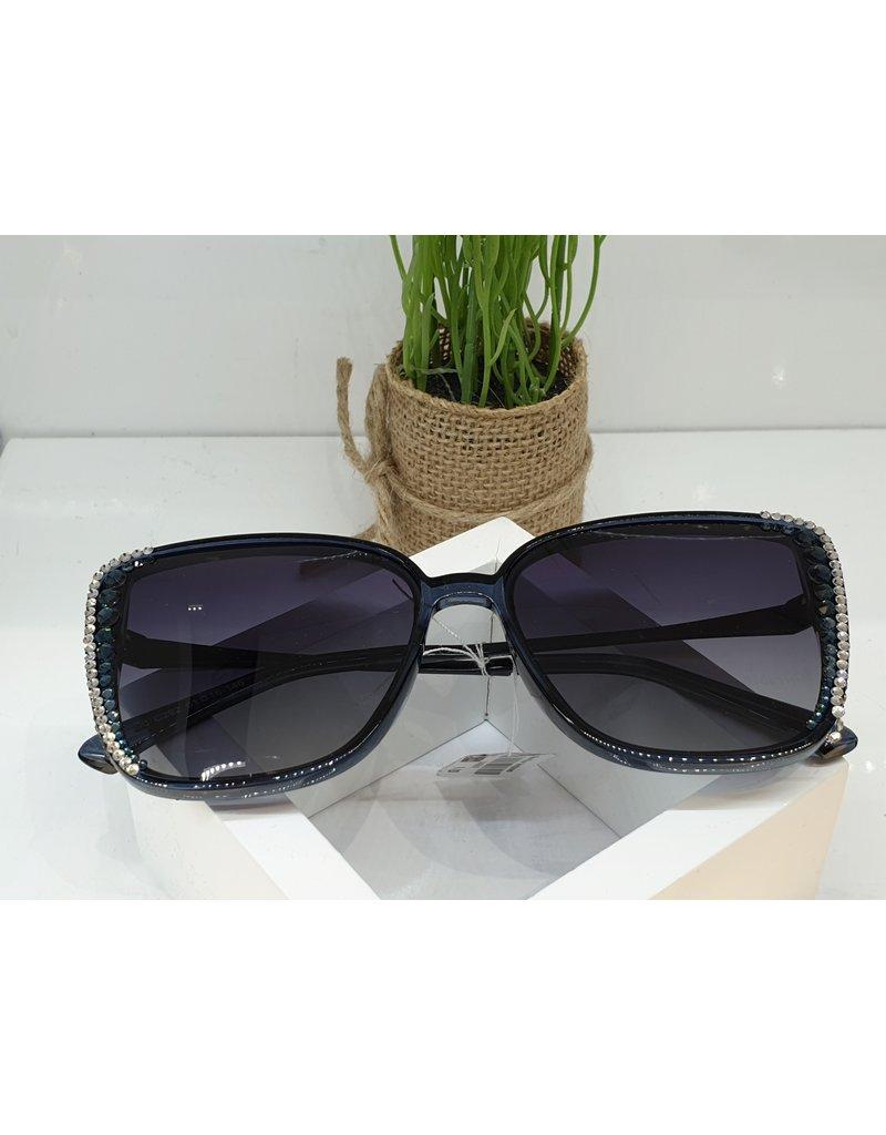 SNA0069- Silver Blue  Sunglasses