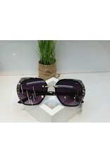 SNA0098- Black Mother Of Pearl Sunglasses