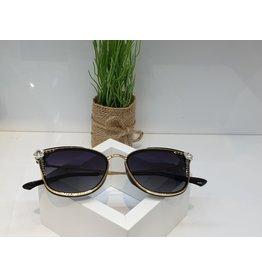SNA0102- Silver Flower Sunglasses