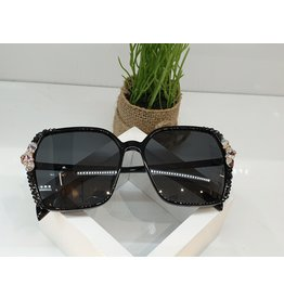 SNA0122- Black Mother Of Pearl Sunglasses
